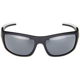 Alpina Testido Gafas, black matt-white